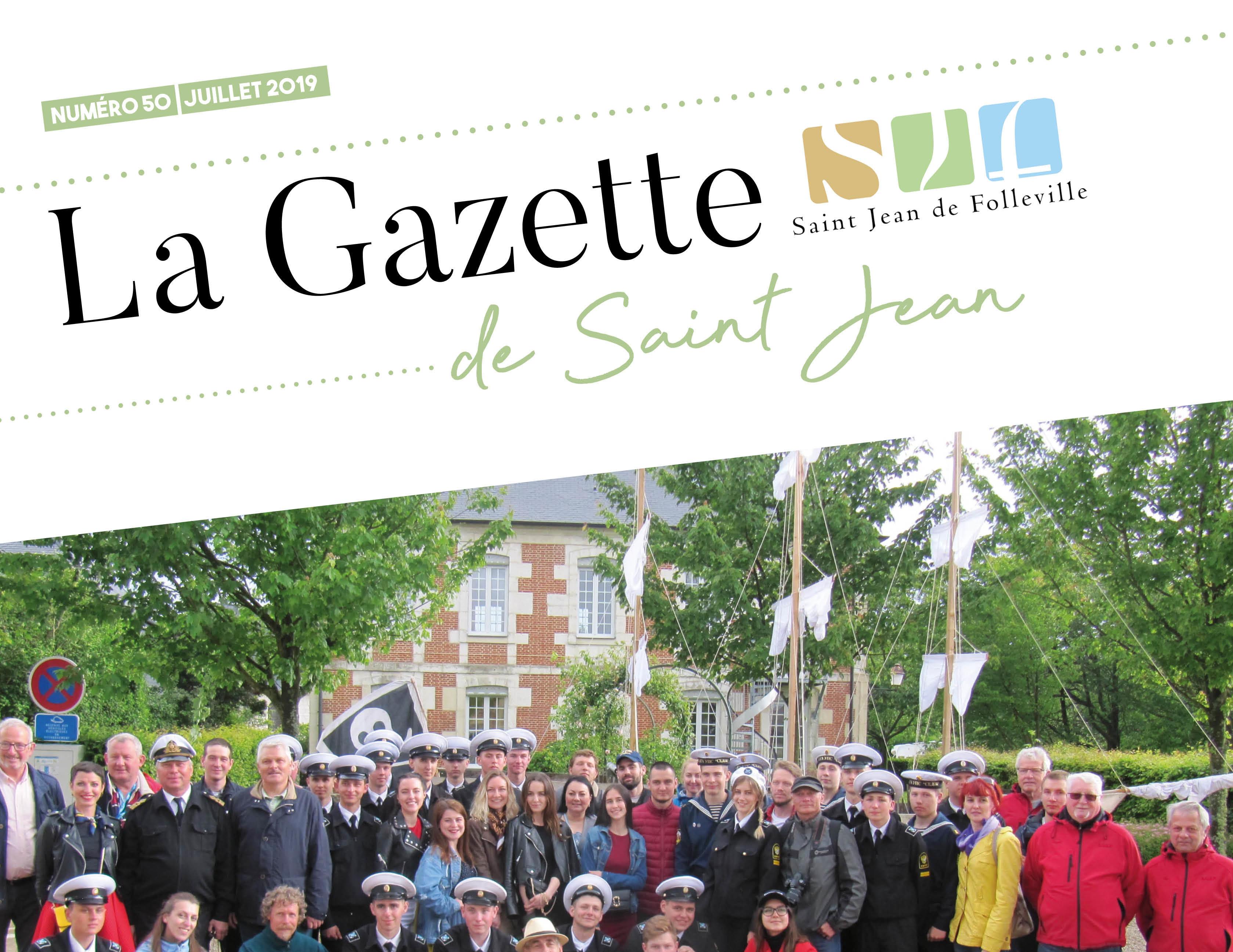 Gazette de Juillet 2019